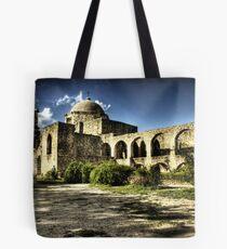 Mission San José y San Miguel de Aguayo Tote Bag