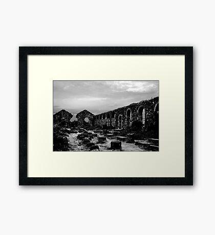 Wheal Basset Tin Mine Framed Print