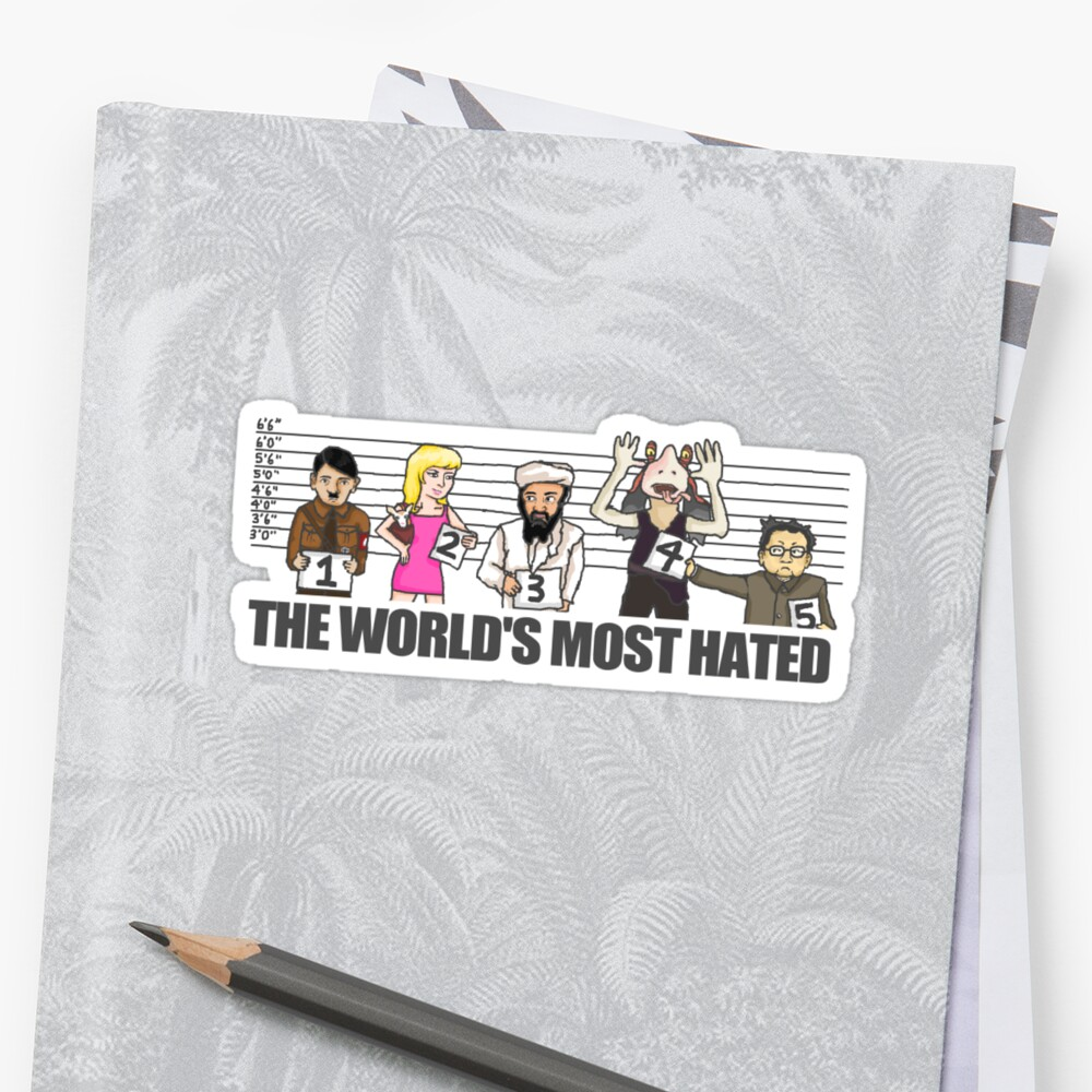 World's Most Hated by GeekCupcake