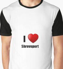 Shreveport I Love City Lover Pride Funny Gift Idea Graphic T-Shirt