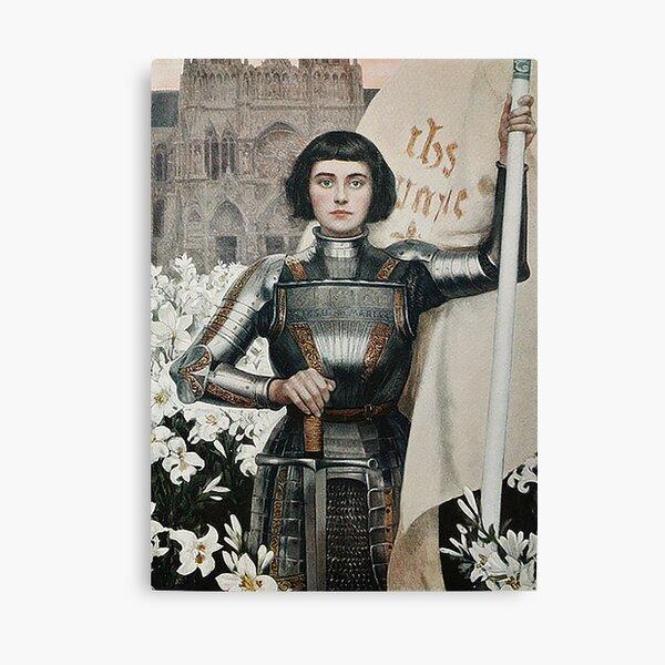 Joan of Arc- Albert Lynch Canvas Print