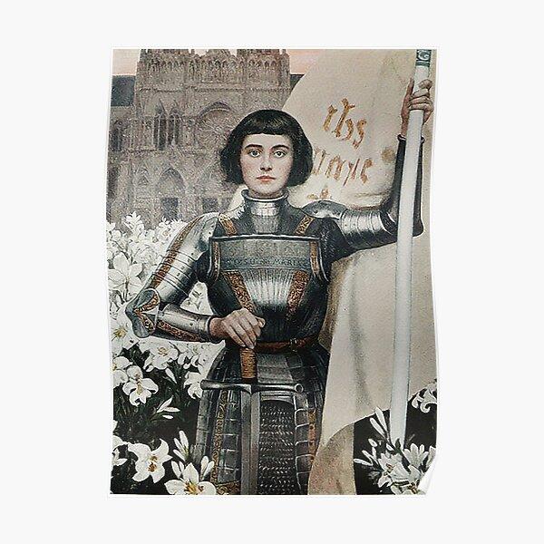 Joan of Arc- Albert Lynch Poster