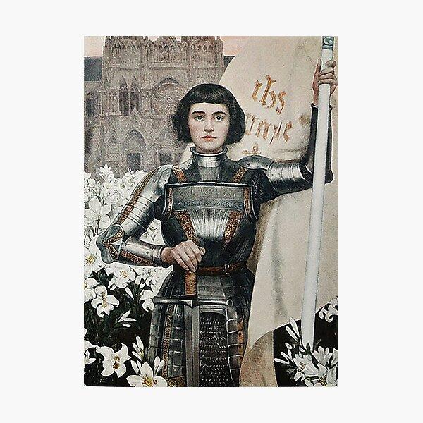 Joan of Arc- Albert Lynch Photographic Print
