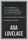 «ADA LOVELACE - Mujeres en la ciencia» de Hydrogene