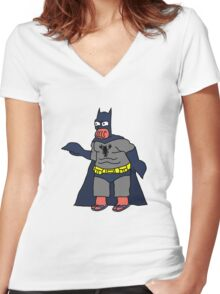 Zoidman! Women's Fitted V-Neck T-Shirt