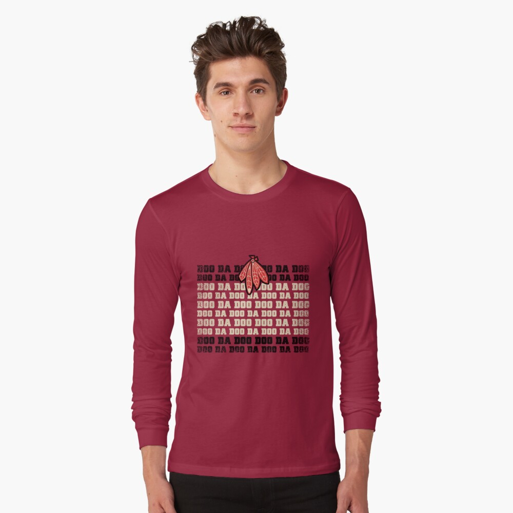 It's a Hawkey Town Long Sleeve T-Shirt Front