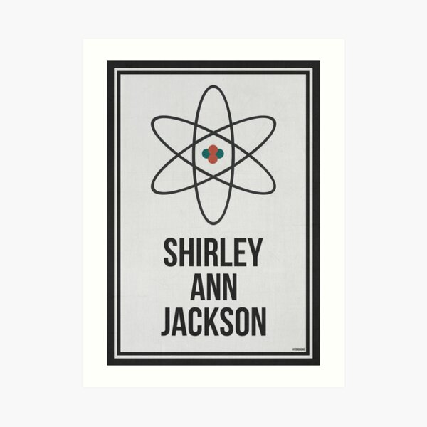 SHIRLEY ANN JACKSON - Women In Science Wall Art Art Print