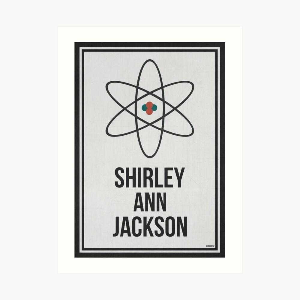 SHIRLEY ANN JACKSON - Frauen in der Wissenschafts-Wand-Kunst Kunstdruck