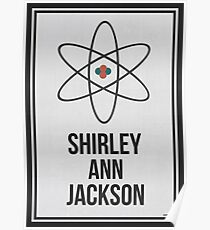 SHIRLEY ANN JACKSON - Frauen in der Wissenschafts-Wand-Kunst Poster