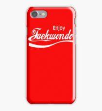 Enjoy Taekwondo  iPhone Case/Skin