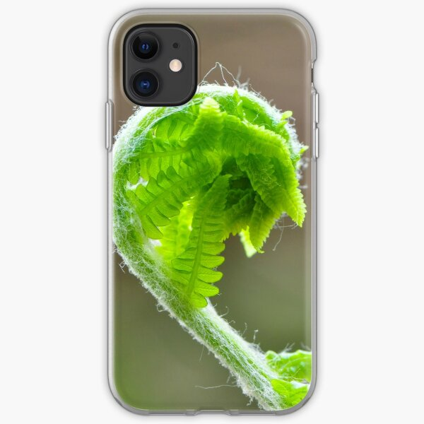 Fern Frond iPhone Soft Case
