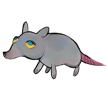 Giant Rat That Makes All of The Rules by nicolascagedesu