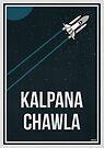 «KALPANA CHAWLA - Mujeres en la ciencia» de Hydrogene