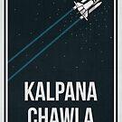 KALPANA CHAWLA - Women In Science by Hydrogene