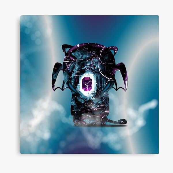 Onyx - The Guardian Of The Emerald Canvas Print
