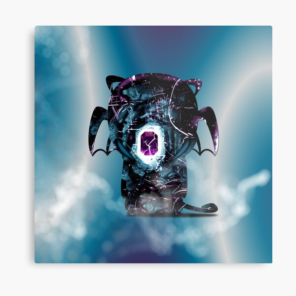 Onyx - The Guardian Of The Emerald Metal Print