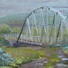 Drizzle at Warren - Warren bridge in June by Cristy Anspach