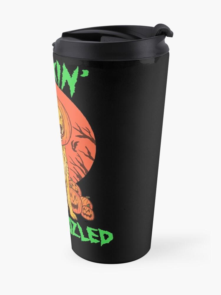 Alternate view of Doggo Lantern Travel Mug