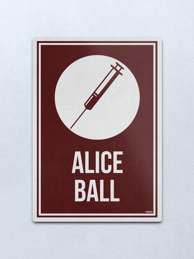 Alternate view of ALICE BALL - Women In Science Metal Print