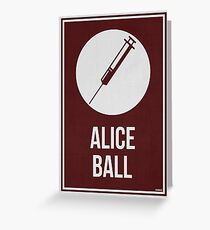ALICE BALL - Women In Science Greeting Card