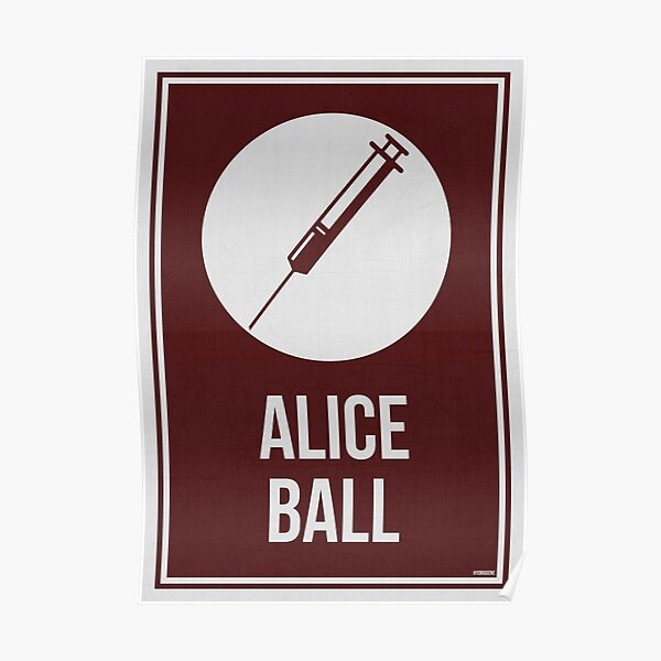 ALICE BALL - Women In Science Poster