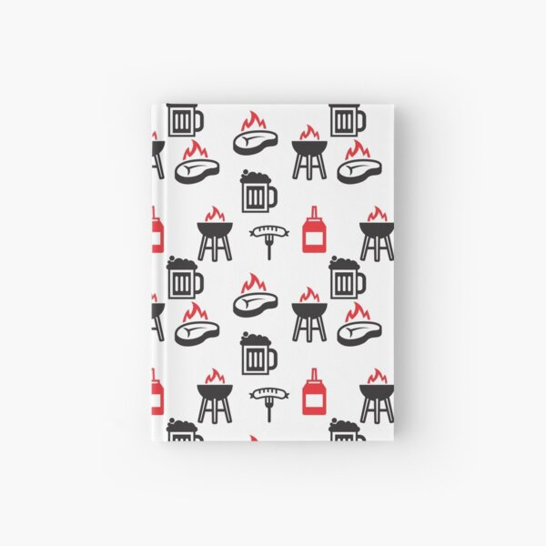 Outdoor Barbecue Cooking  Hardcover Journal