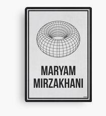 MARYAM MIRZAKHANI - Women In Science Canvas Print