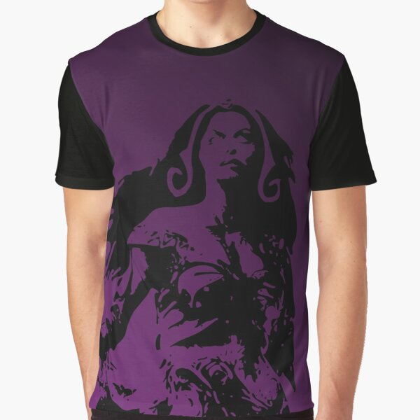 Magic Planeswalker Profile - Liliana Vess - Abstract  Graphic T-Shirt