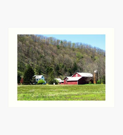 Red Barn, PA Art Print
