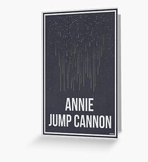 ANNIE JUMP CANNON - Women in Science Greeting Card