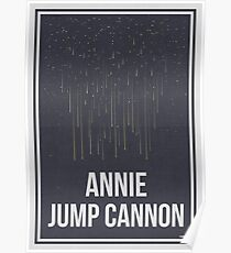 ANNIE JUMP CANNON - Women in Science Poster