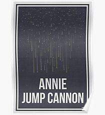 ANNIE JUMP CANNON - Frauen in der Wissenschaft Poster