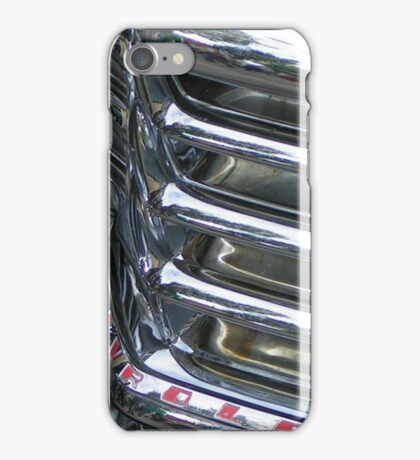 Vintage Car Chrome Glamour iPhone Case/Skin