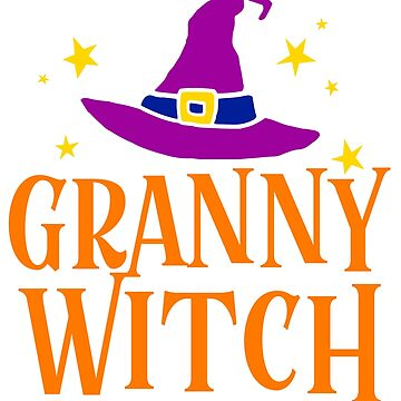 GRANNY WITCH HALLOWEEN by tshirtsclick