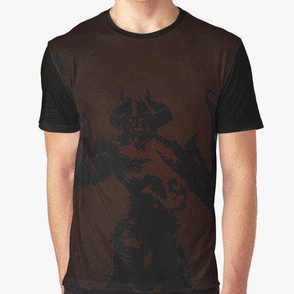 Magic Planeswalker Profile - Ob Nixilis - Abstract Graphic T-Shirt