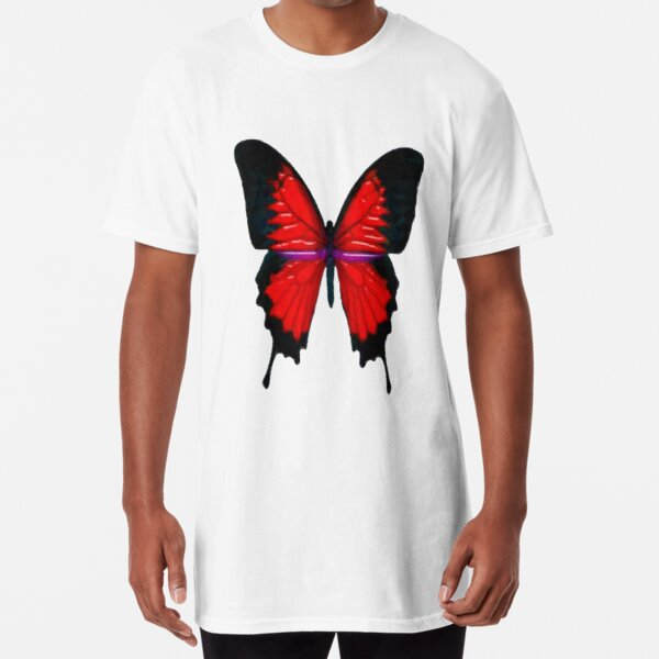 day 3 butterfly Long T-Shirt
