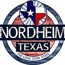 Nordheim Texas rustic wood circle by artisticattitud