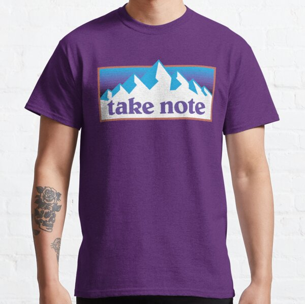Take Note mountains 90s Classic T-Shirt
