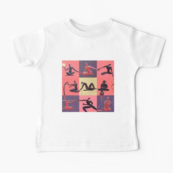 Yoga Positions Baby T-Shirt
