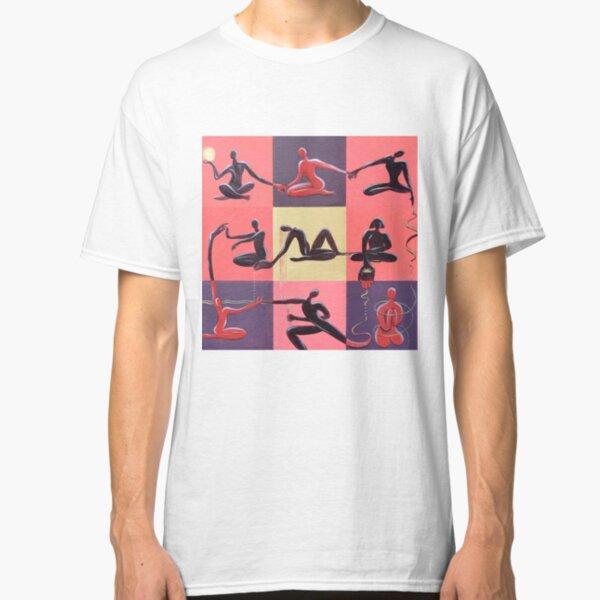 Yoga Positions Classic T-Shirt
