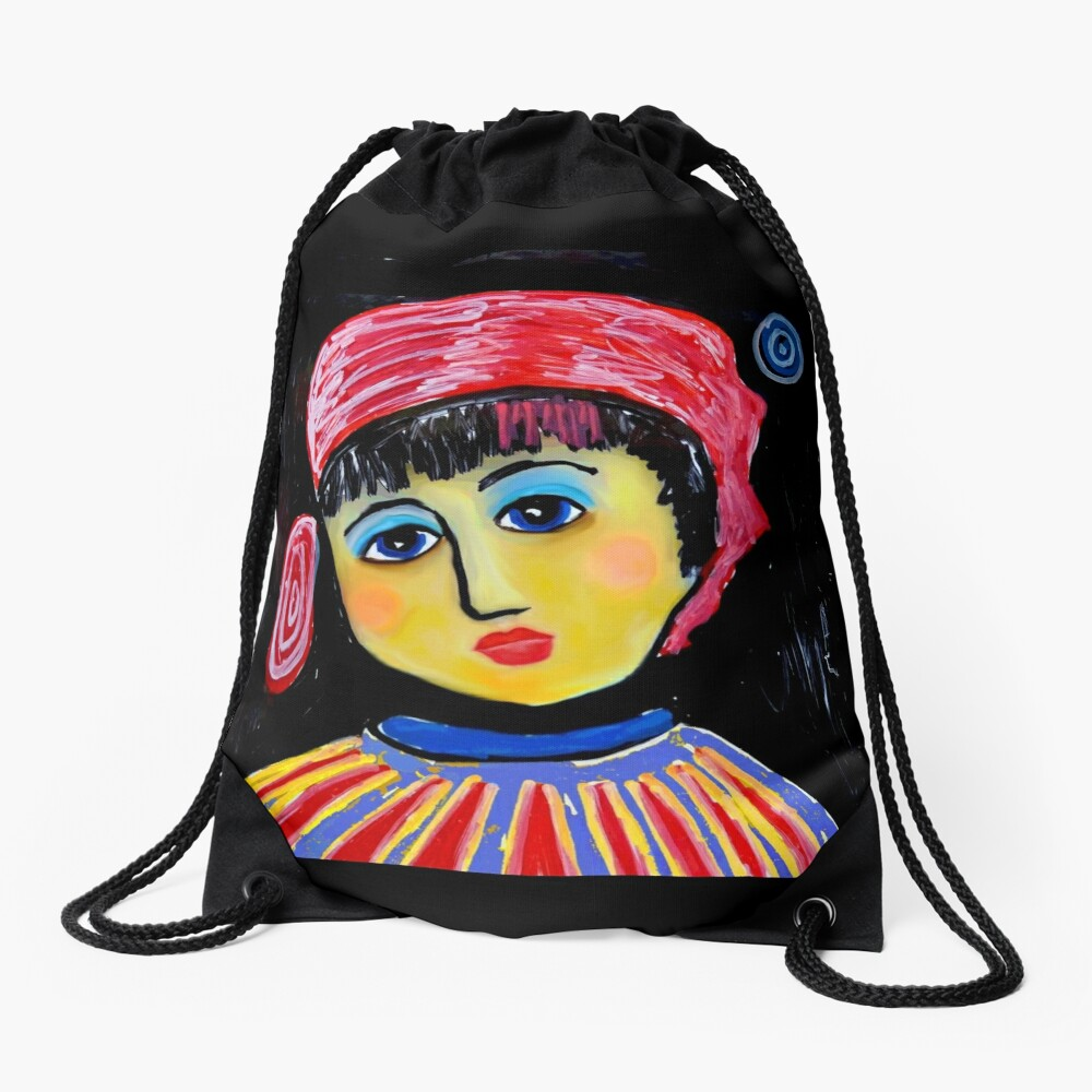 Josephine Drawstring Bag