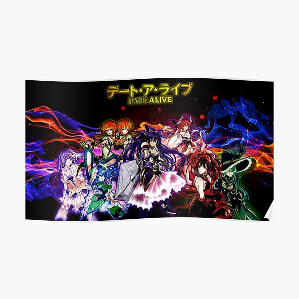 Date A Live - Anime Poster