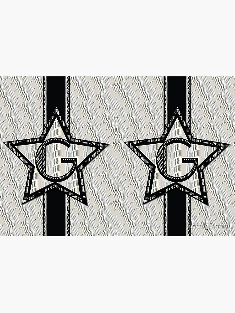 STAR of the SHOW art deco style letter G by CecelyBloom