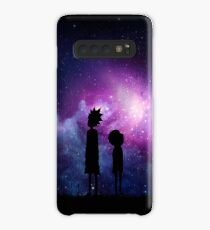 Minimalist Rick and Morty Space Design Case/Skin for Samsung Galaxy