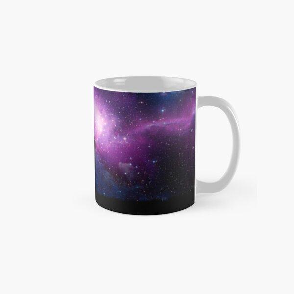 Minimalist Rick and Morty Space Design Classic Mug