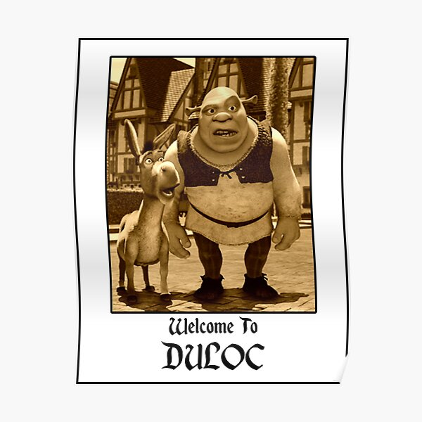 welcome to duloc Poster