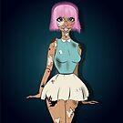 Cutie x Cracked Doll by KLCreative