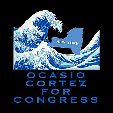 Ocasio Cortez for Congress by ericthemagenta