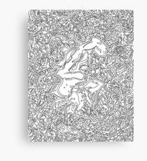 Velocilith Canvas Print