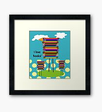 Book Lovers Book Birds Framed Print